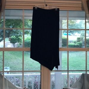 Express Black Skirt, S